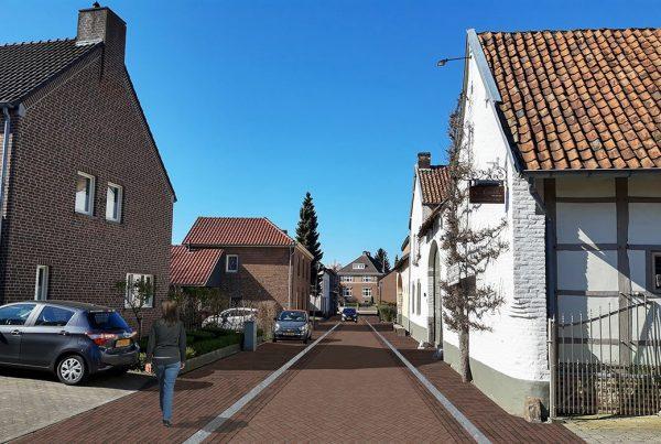 Dorpsstraat sint Geertruid